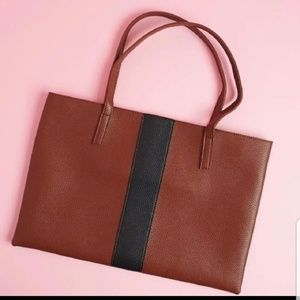 Vince Camuto Leather Luck Tote